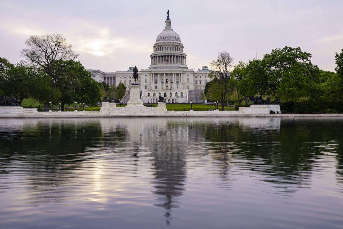 Foto de archivo del 28 de abril de 2021 que muestra el Capitolio en Washington.