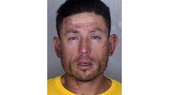 En esta foto sin fecha de la fiscalía del condado Butte, en California, se ve a Ryan Scott Blinston, acusado de degollar a tres personas. Los fiscales presentaron cargos el 12 de mayo de 2021.