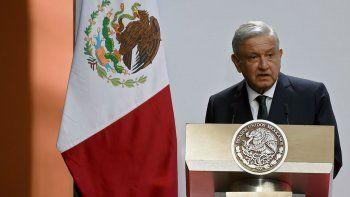 El presidente de México Andrés Manuel López Obrador ofrece su segundo informe anual en el Palacio Nacional de México, Ciudad de México, el 1 de septiembre de 2020.